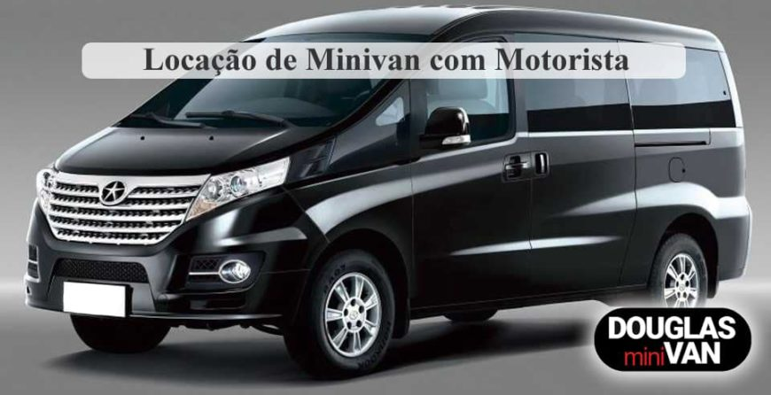 Locação de Minivan em SP