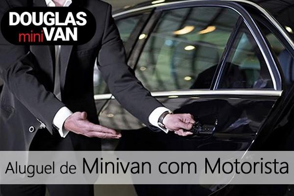 Aluguel de Minivan com Motorista São Bernardo do Campo