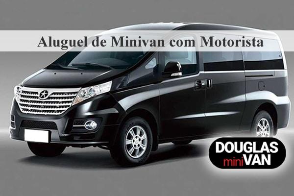 Aluguel de Minivan em São Paulo