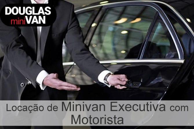 Locação de Minivan Executiva com Motorista São Paulo